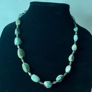 Jewelry - Natural Jasper, 18 stones, Necklace